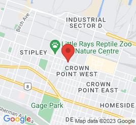 Google Map of 970+Barton+Street%2CHamilton%2COntario+L8L+3C7