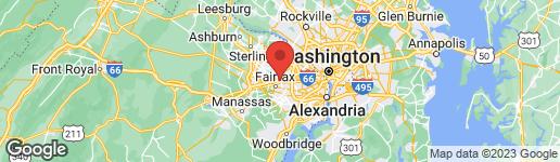 Map of 9700 KINGSBRIDGE DRIVE #101 FAIRFAX, VA 22031