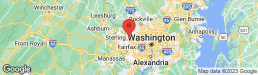 Map of 9715 LOCUST HILL DRIVE GREAT FALLS, VA 22066