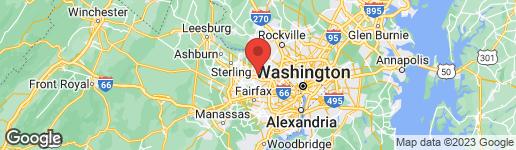 Map of 9721 SPRING RIDGE LANE VIENNA, VA 22182