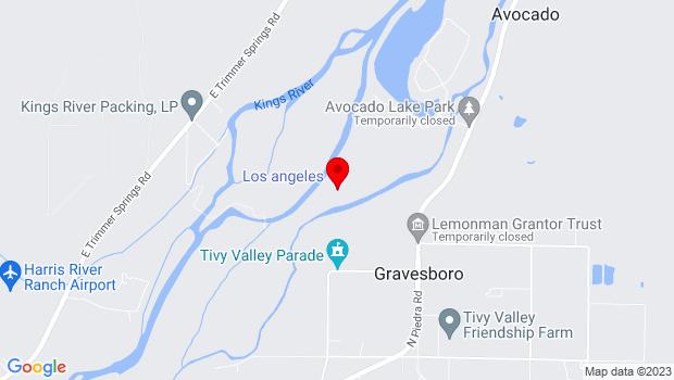 Google Map of 9725 Main St., CA