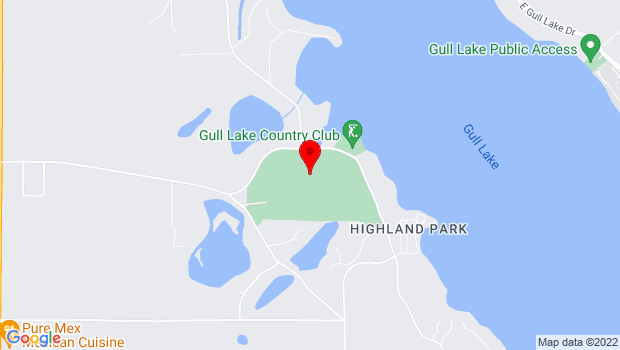 Google Map of 9725 West Gull Lake Drive, Richland, MI 49083