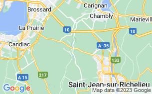 Map of Camping Joie De Vivre