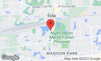 Map of 978 Riverstone Drive AURORA, IL 60502