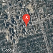 Satellite Map of 98 Lillian St Unit 914, Toronto, Ontario