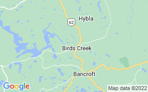 Map of Bancroft Campground