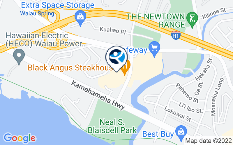 Action with Aloha - Pearl City Location and Directions