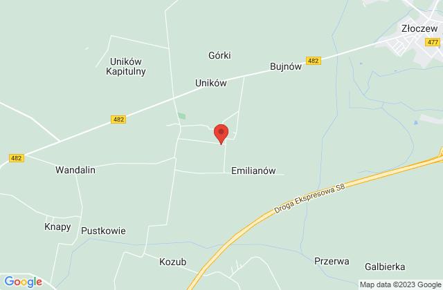 Wyświetl AGNIESZKA WIERUCKA,AGRO-MASZ-ROL na mapie
