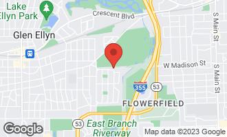 Map of 980 Waverly Road GLEN ELLYN, IL 60137