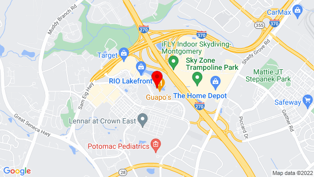 Google Map of 9811 Washingtonian Blvd, Gaithersburg, MD 20878, Gaithersburg, MD 20878