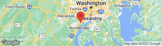 Map of 9816 Richmond Highway Lorton, VA 22079