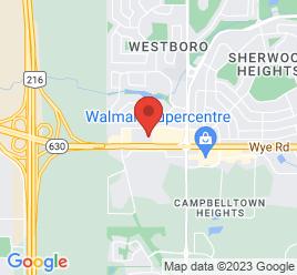 Google Map of 983+Fir+Street%2CSherwood+Park%2CAlberta+T8A+4N5