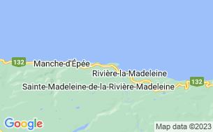 Map of Camping Bel-Air