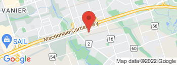 Google Map of 99+Bloor+Street+East%2COshawa%2COntario+L1H+3M3