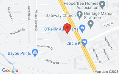 Map of 9900 Smitherman Drive, Shreveport, LA, USA