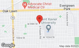 Map of 9900 South Pulaski Road OAK LAWN, IL 60453