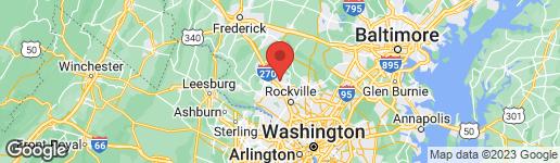 Map of 9900 WALKER HOUSE ROAD #5 GAITHERSBURG, MD 20886