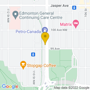 Map to The Common provided by Google