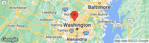 Map of 9913 THORNWOOD ROAD KENSINGTON, MD 20895