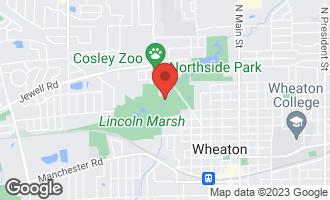 Map of 999 Confidential Street WHEATON, IL 60187