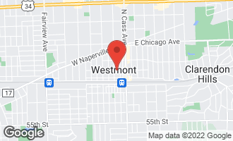 Map of 999 Confidential Westmont, IL 60559