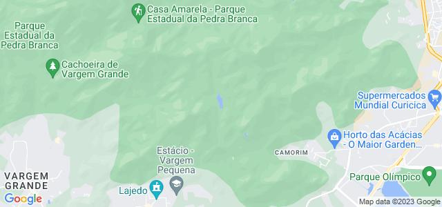 Açude do Camorim, Parque Estadual da Pedra Branca, Rio de Janeiro - RJ