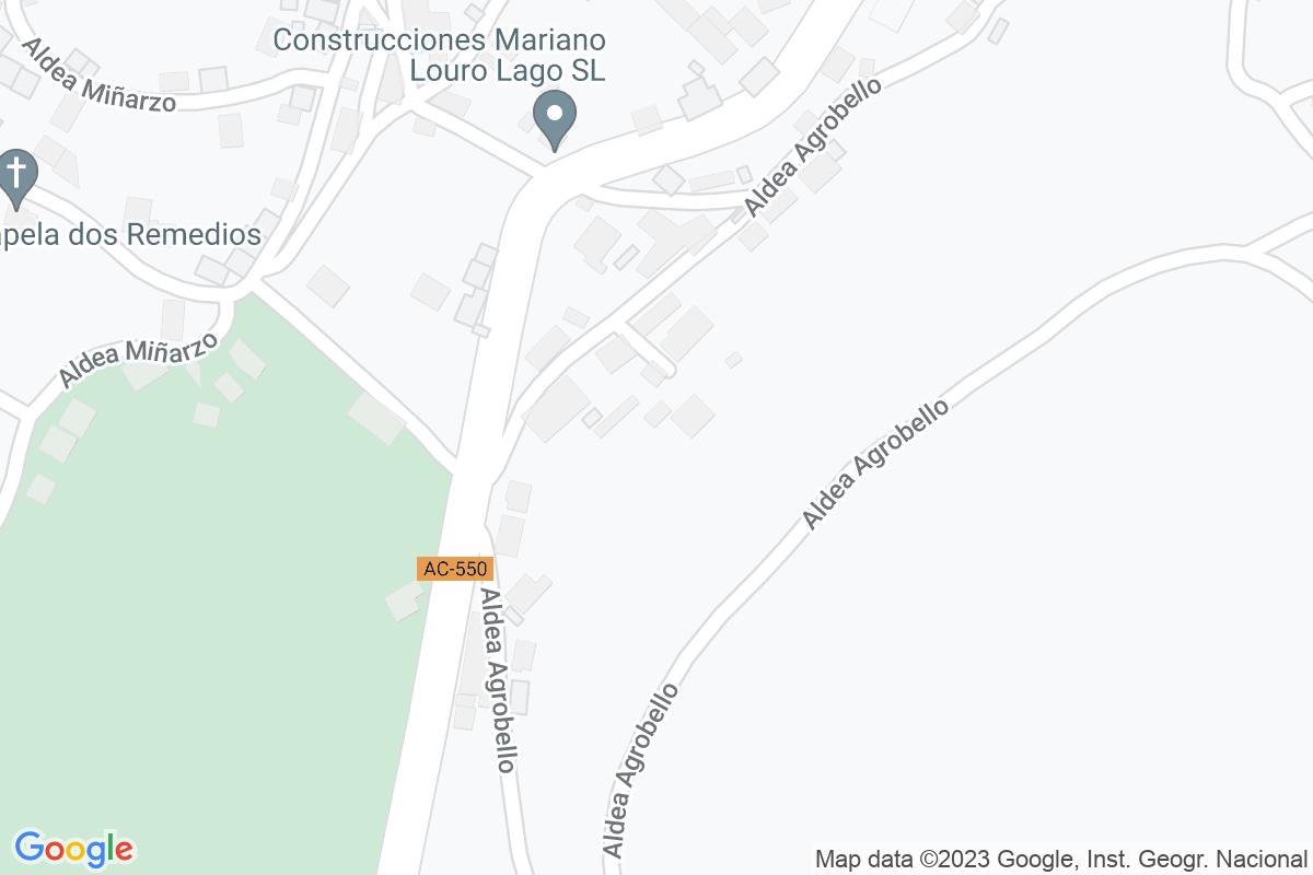 Mapa A-coruna AGROVELLO
