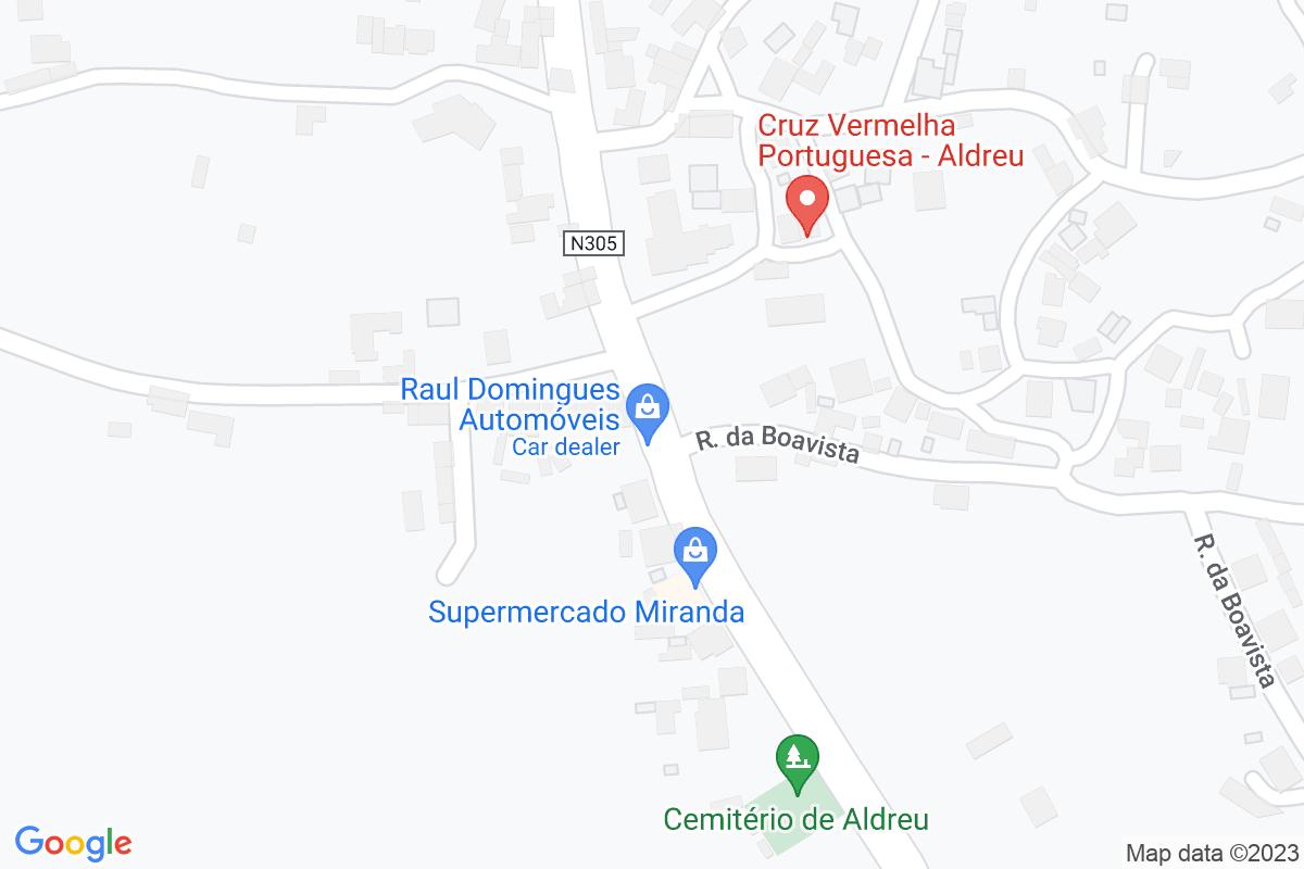 Mapa A-coruna ALDREU
