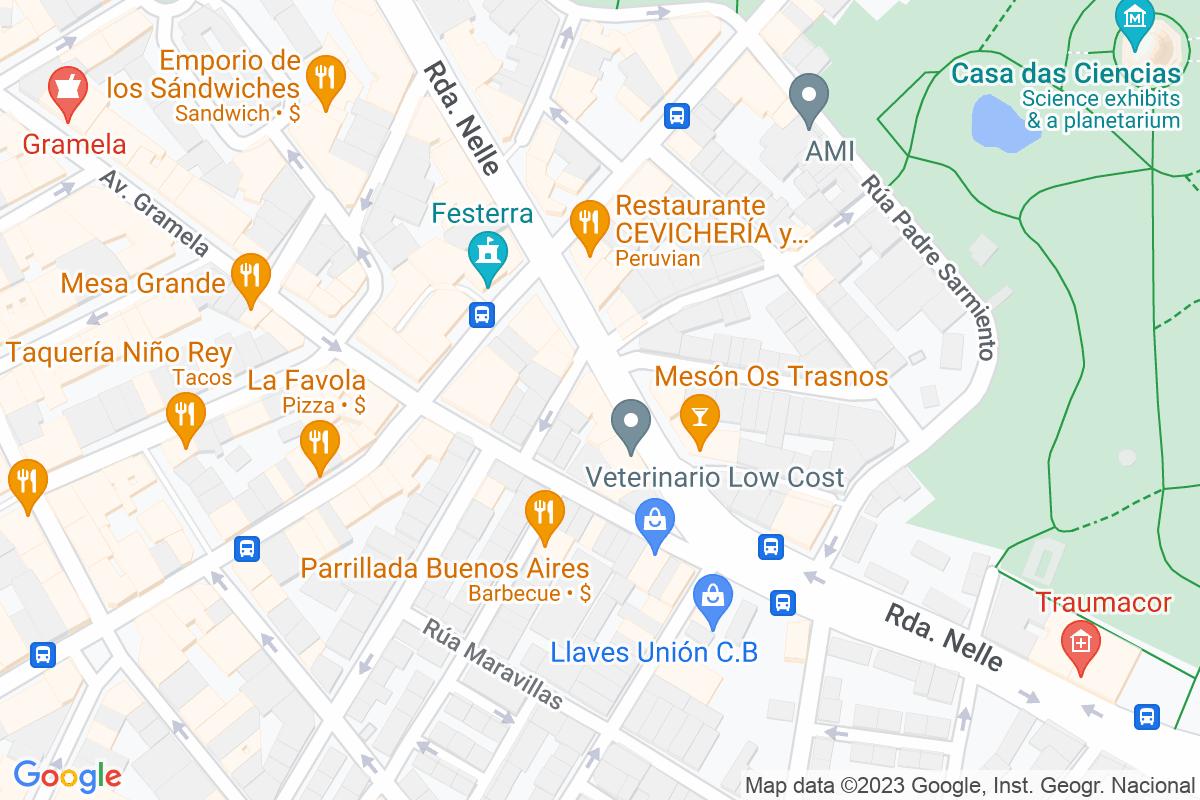 Mapa A-coruna ANSEDE