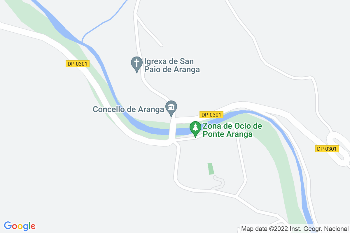 Mapa A-coruna ARANGAS