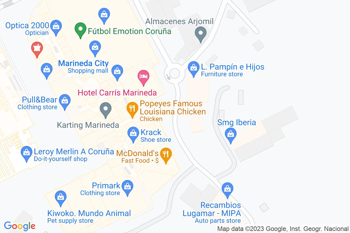 Mapa A-coruna ARJOMIL