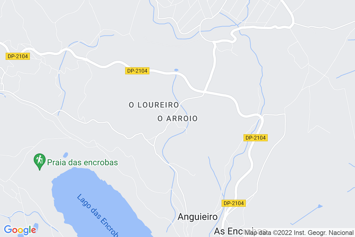 Mapa A-coruna ARROIO