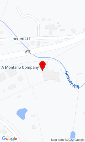 Google Map of A. Montano Co., Inc. 571 Route 212, Saugerties, NY, 12477,