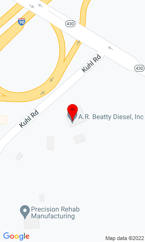 Google Map of A.R. Beatty Equipment 5251 Kuhl Road , Erie, PA, 16510