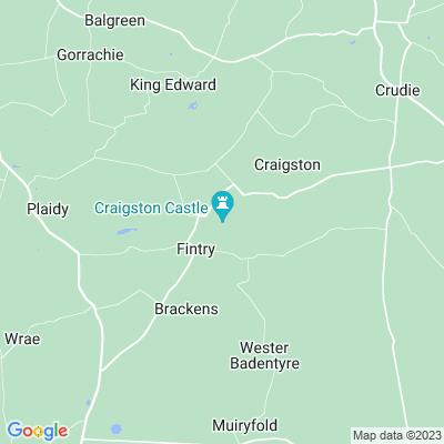 Craigston Castle Location