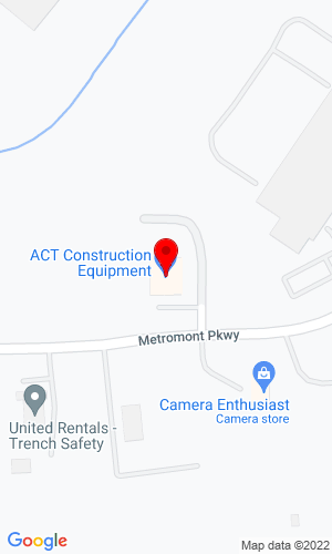 Google Map of ACT Construction Equipment 10925 Metromont Pkwy, Charlotte, NC, 28269,