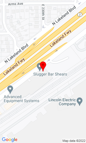 Google Map of AGGCORP 22800 Lakeland Blvd, Cleveland, OH, 44132