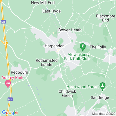 Rothamsted Manor Location