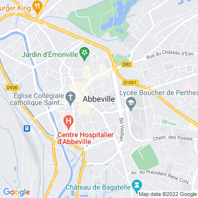 bed and breakfast Abbeville