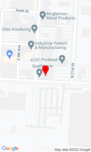 Google Map of Able Industries Inc. 870 N 20th Street, Columbus, OH, 43219,