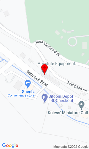 Google Map of Absolute Equipment 3038 Babcock Blvd, Pittsburgh, PA, 15237,