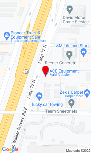 Google Map of Ace Equipment & Supply Co. 9660 Dallas Street, Henderson, CO, 80640