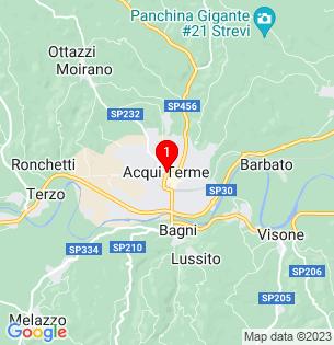Google Map of Acqui Terme, Piedmont, Italy