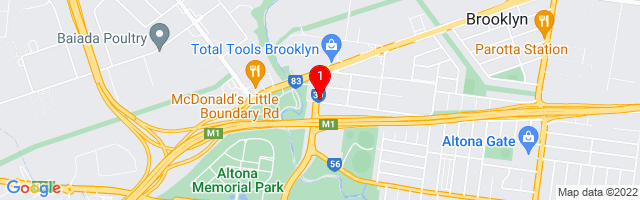 Google Map of Active Office Furniture, 570 Grieve Parade, Brooklyn VIC 3025, Australia