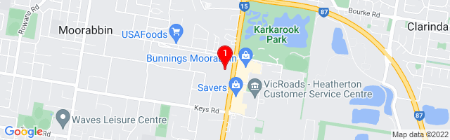 Google Map of Active office furniture Moorabbin, 686A South Road Moorabbin