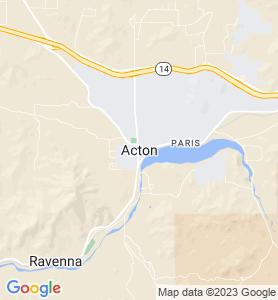 Acton CA Map
