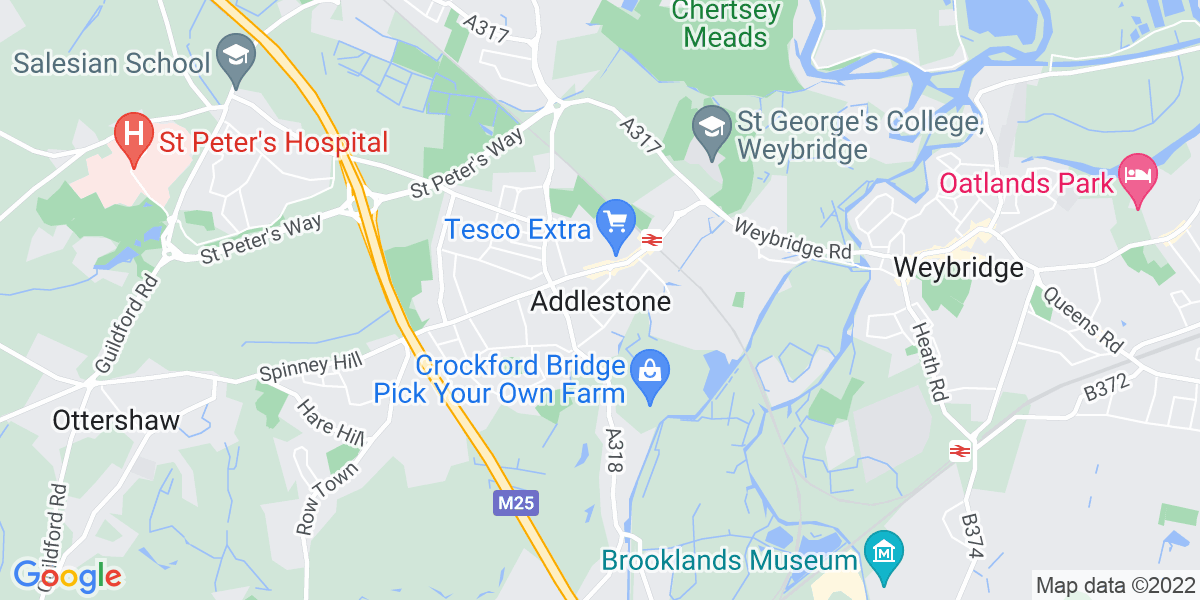 Map: Administration Assistant (12 month contract) job in Addlestone
