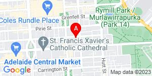 Google Map of Adelaide Community Correctional Centre 181 Flinders St, Adelaide SA 5000