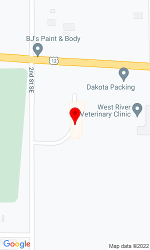 Google Map of AgPro JCB 201 US Hwy 12 E, Hettinger, ND, 58639
