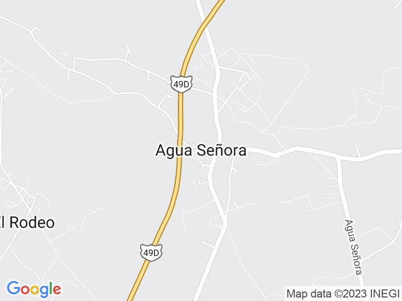 Agua Señora, San Luis Potosi
